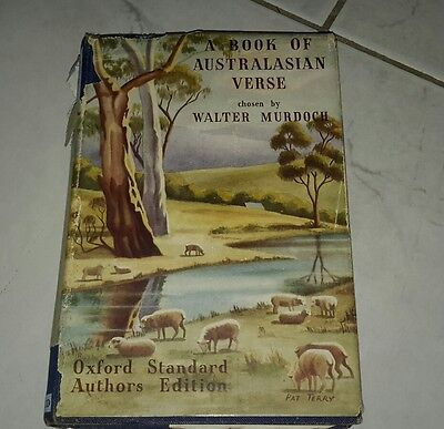 old book A Book of Australasian Verse