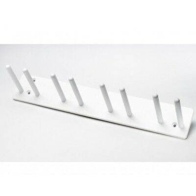 Wall Mounted Lead Apron Rack - Eight Pegs