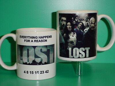 LOST TV Series Show - with 2 Photos - Designer Collectible GIFT Mug 01