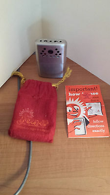 jon-e hand warmer  Stainless Steel  with instruction booklet and red bag
