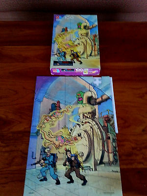 """1988 The Real Ghostbusters 100 Piece Puzzle by Milton Bradley, 11"""" x 16"""""""