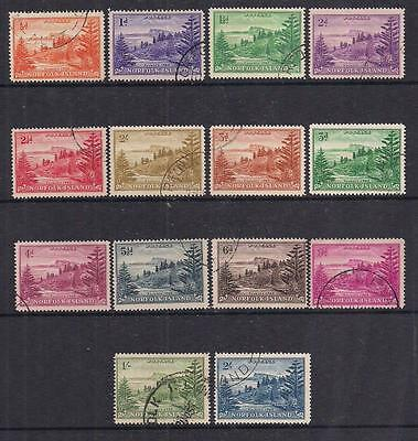 Norfolk Islands - 1947 - Pictorial Set - SG1/12A - Used