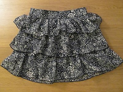 F&F Girls Floral Fully Lined Layered Skirt - 6-7 Years