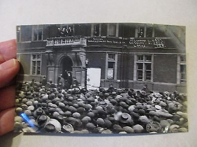 Antique Vintage Early Edwardian Photo Political Postcard Swindon Election 1910