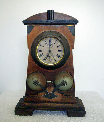 Beautiful Antique Junghan  Chime Mantle Clock