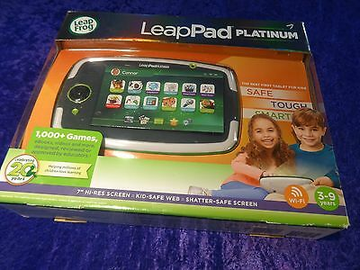 "LeapPad Platinum Learning Tablet System 31565 Leap Frog 7"" Screen * NEW SEALED"