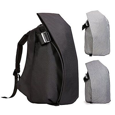 "Kalidi Rucksack for MacBook Pro 13"" - 15"" Trendy Laptop Backpack Cool Black"