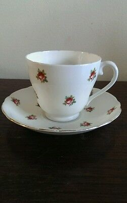 Adderley & Royal Adderley Vintage Cup and Saucer Pretty Rose Pattern