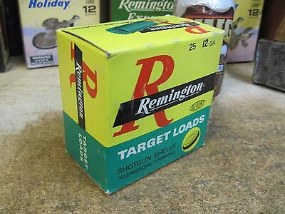 REMINGTON TARGET L LOADS empty 12 GA SHOTGUN SHELL box ORIGINAL  SHOT HUNTING