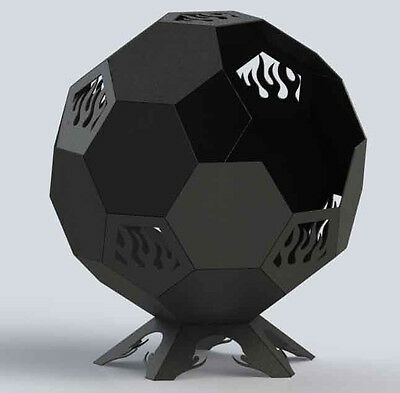 DXF File Fire Pit Ball Plain
