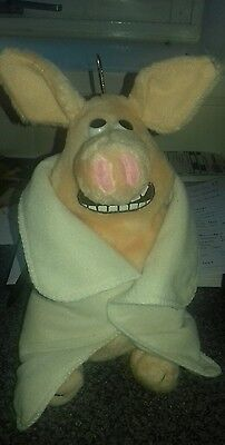 creature comforts the pig