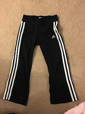 Girls adidas tracksuit bottoms