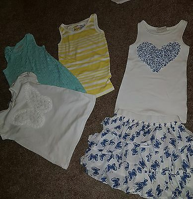 Girls NEXT bundle age 5 great used condition