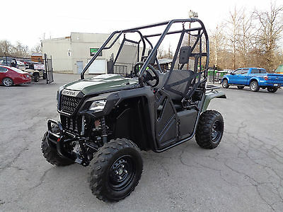 2015 Honda Pioneer 500 4x4 Electronic Fuel-Injection - Only 102 miles