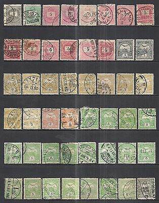HUNGARY: 1874 - 1950's 8.5 PAGES - MAJORITY USED MATERIAL