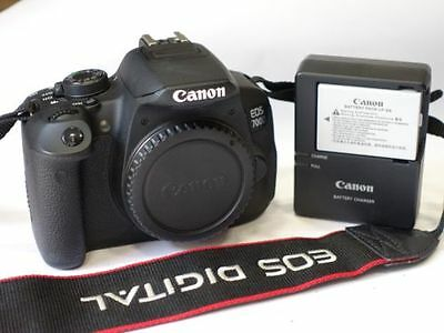 Canon EOS 700D Digital SLR camera body + 75-300 lens
