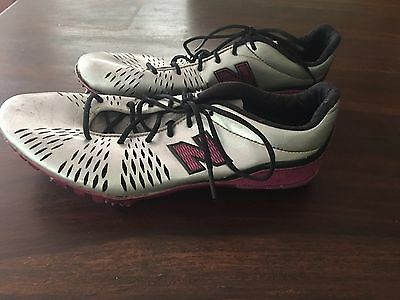 New Balance Running Spikes US8 UK6 EU39 Excellent Used Condition