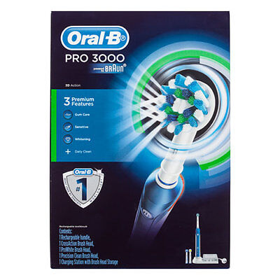 NEW Oral-B Pro 3000 Electric Toothbrush