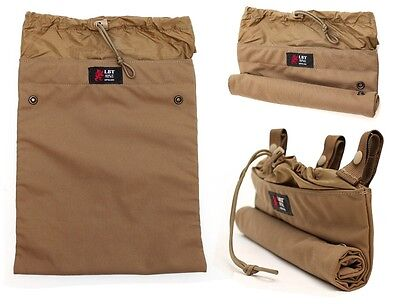 NEW LONDON BRIDGE Medium Magazine Dump Pouch Roll Up Belt LBT-2616A Coyote Brown