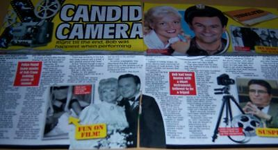 Bob Crane - Hogan's Heroes 2 pc Clippings Article Full Pages