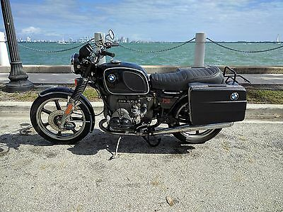 1976 BMW R-Series  1976 BMW R75/6 Touring Motorcycle Antique with Saddlebags Working Perfectly
