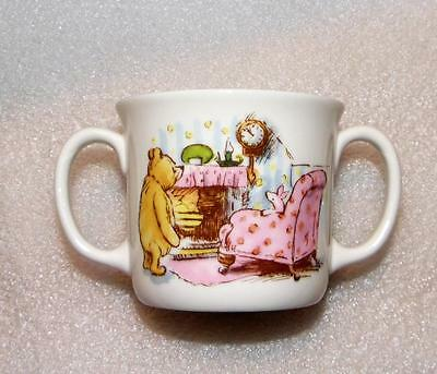 Winnie The Pooh Classic Royal Doulton Feeding Set 2 Handled Cup & Plate Nwob