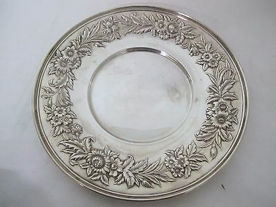 Gorgeous S. Kirk And Son Repousse Dinner Plate