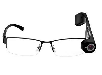 WIFI 720P Smart Camera Glasses with Wifi Mobile Hotspots Video Streaming