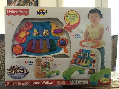 Fisher Price 2-in-1 Singing Band Walker