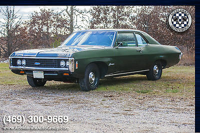 1969 Chevrolet Biscayne #s Match 396 Upgraded to a 460 V8! 1969 Biscayne Upgraded to a 460!!