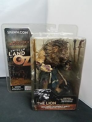 McFarlane's Monsters Series 2 Twisted Land of Oz - The Lion 2003 New NISB