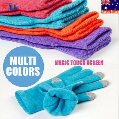 New Outdoor Sport Warm Magic Touch Swiss Wear Touch Screen Gloves For Smartphone