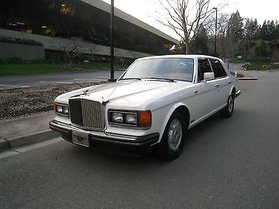 """1988 Bentley Mulsanne S 1988 BENTLEY MULSANNE """"S"""" CREAM PUFF, CLEANEST , MUST SEE AND DRIVE"""