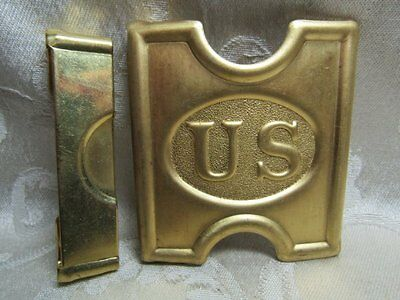 Indian Wars REPRODUCTION Army Ammunition Belt Buckle by Anson Mills