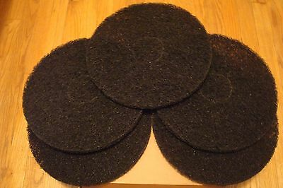 13'' Norton Bear-Tex 3 Box's 15-Pads, Floor Stripping Pads