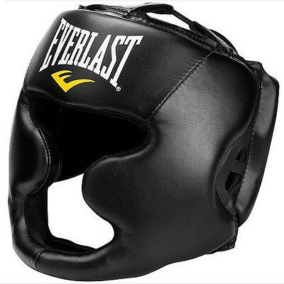 MMA Boxing Headgear Head Guard Helmet Punch Protector NEW Box Combat Safety Gear