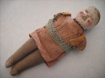 Old Vintage 1920's, 1930's Doll 14 inches tall