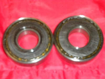 NSK 25TAC62A Precision Roller Bearings (PAIR) Used