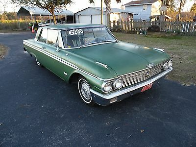 1962 Ford Galaxie 2 door club victoria 1962 Ford Galaxie 500  6.4L  special 390  club victoria 2 door holley 4 barrel