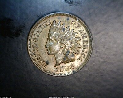 1908   Indian Cent In Uncirculated