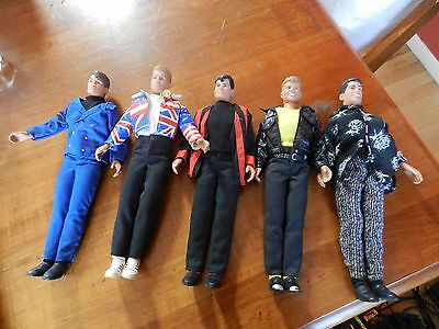 Hasbro Vintage 1990 Big Step Products Doll Figure's  New Kids On The Block