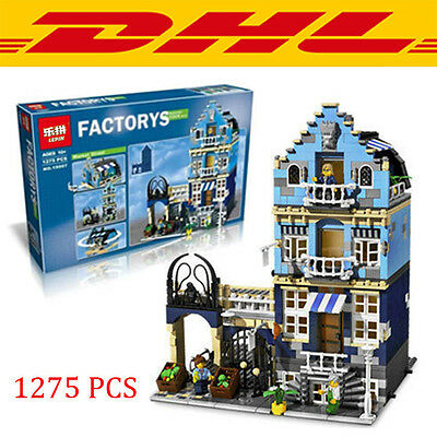 Market Street  Modular Building - DHL DELIVERY new