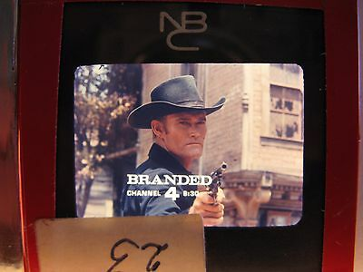 "Original CHUCK CONNERS COWBOY GUNFIGHTER ""BRANDED"" WESTERN TV SHOW VINTAGE PROMO"