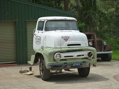 1956 Ford COE cabover rare patina suit Ford F100 F1 chevy hotrod ute builder