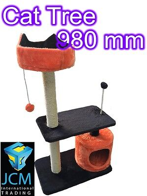 Super Soft Cat Tree Scratching Post Furniture Scratch Poles Gym House Toy Gifts