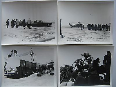 Vtg BROADCAST TRUCK,B&W TV FILM CAMERA'S,MARINE HELICOPTER,ANDREWS AFB-PRESIDENT