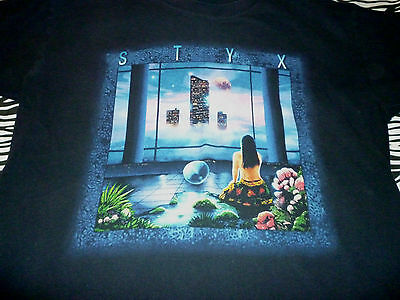 Styx 1999 Vintage Tour Shirt ( Used Size L )  Nice Condition!!!