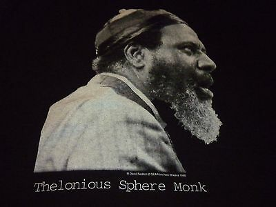 Thelonious Sphere Monk / Jazz Time Shirt ( Used Size L ) Very Nice Condition!!!