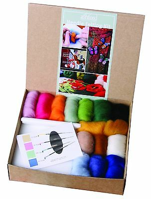 Ashford Needle Felting Starter Kit includes Ashford Book of Needle Felting NFK