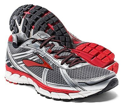 09cd3d32ddb NEW BROOKS DEFYANCE 9 Charcoal Silver Men s Running Shoes 9 US ...